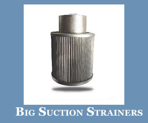 Big Suction Strainers in Australia