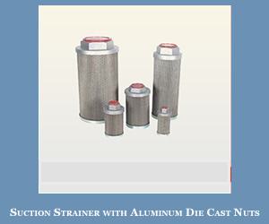 Suction Strainer With Aluminum In India