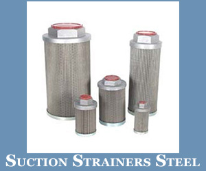 Suction Strainers Steel Nuts In India