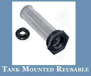 Tank Mounted Reusable Strainers Manufacturer in USA